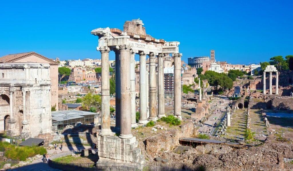 Rooma vaatamisväärsused - Rooma foorum