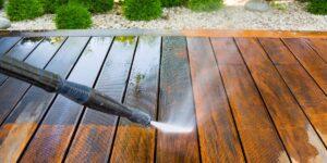 terrassi puhastamine